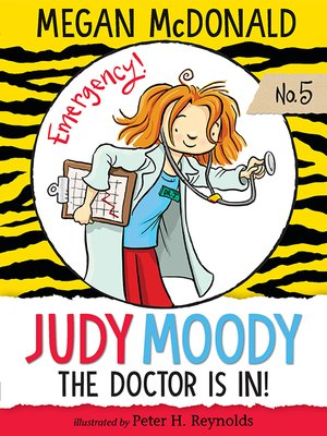 cover image of Judy Moody, M.D.